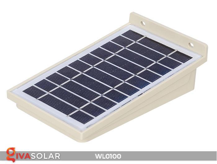 Đèn LED treo tường năng lượng mặt trời WL0100 7