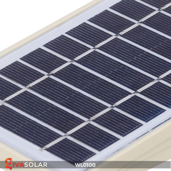 Đèn LED treo tường năng lượng mặt trời WL0100 9
