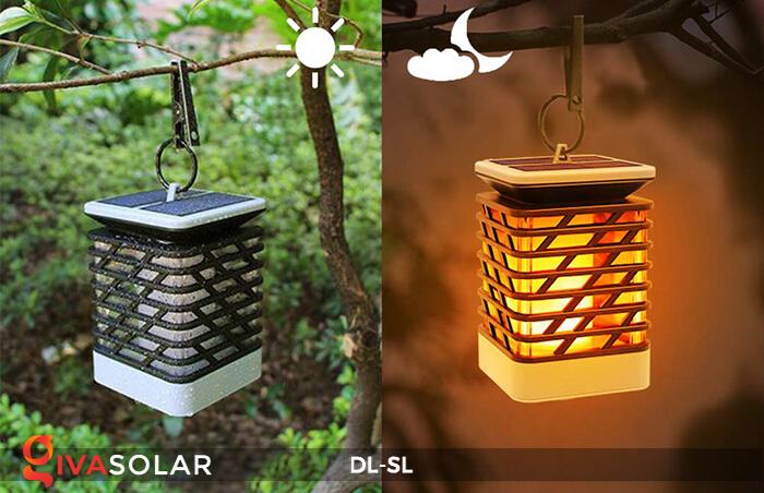 Đèn lồng treo năng lượng mặt trời DL-SL 10