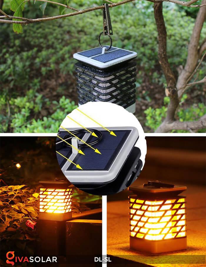Đèn lồng treo năng lượng mặt trời DL-SL 13