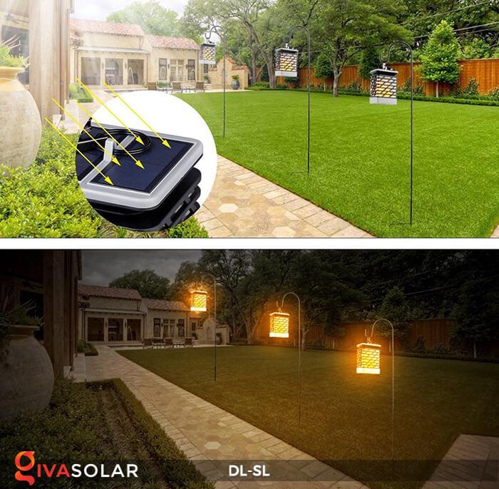 Đèn lồng treo năng lượng mặt trời DL-SL 7