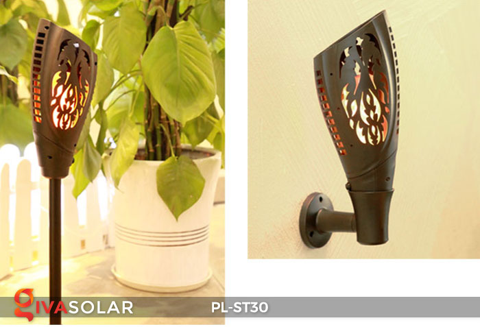 Đèn ngọn đuốc năng lượng mặt trời PL-ST30 15