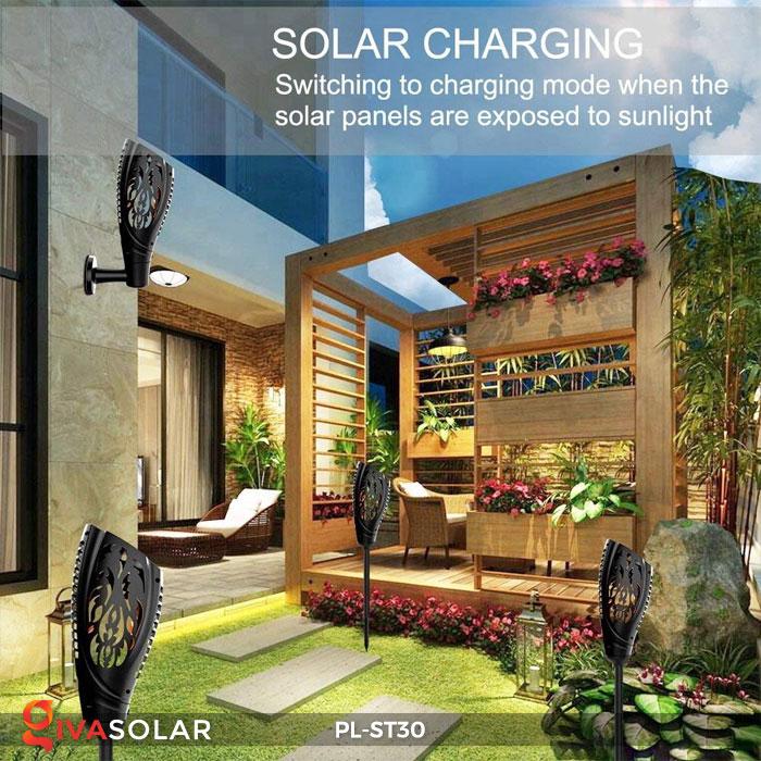 Đèn ngọn đuốc năng lượng mặt trời PL-ST30 18