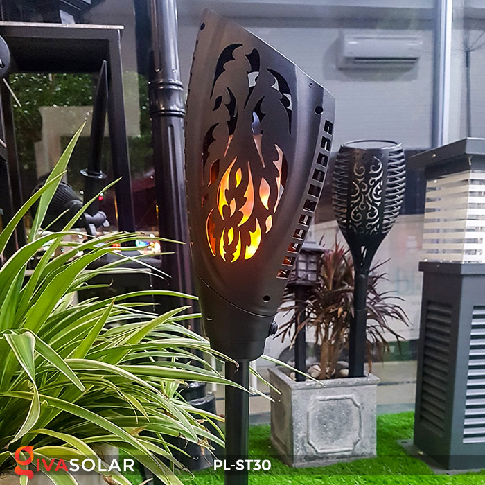 Đèn ngọn đuốc năng lượng mặt trời PL-ST30 9