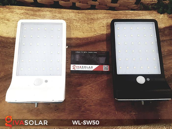 Đèn năng lượng mặt trời treo tường WL-SW50 1