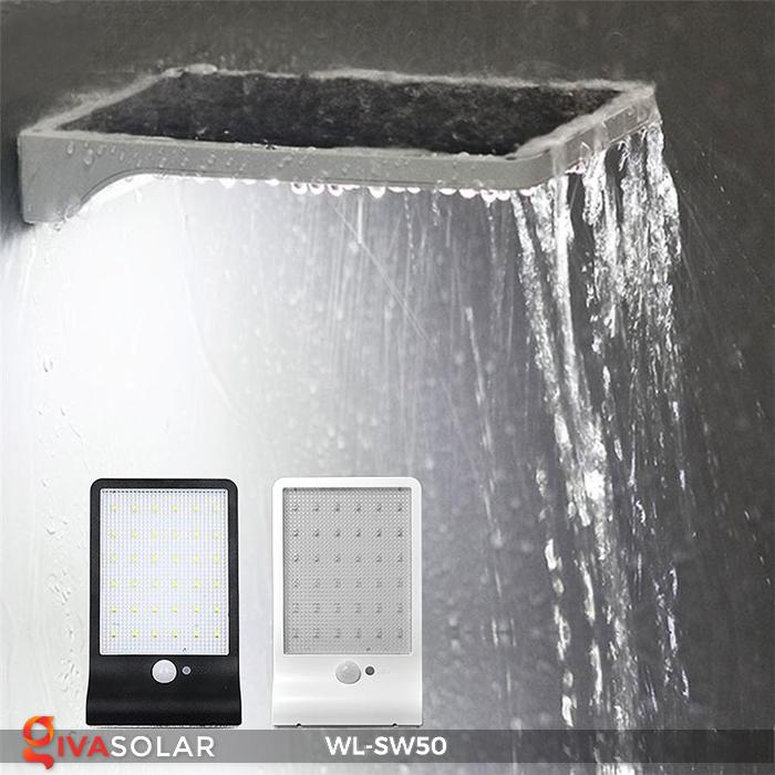 Đèn năng lượng mặt trời treo tường WL-SW50 11