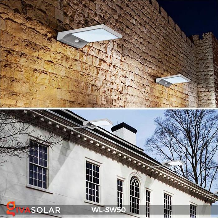 Đèn năng lượng mặt trời treo tường WL-SW50 16