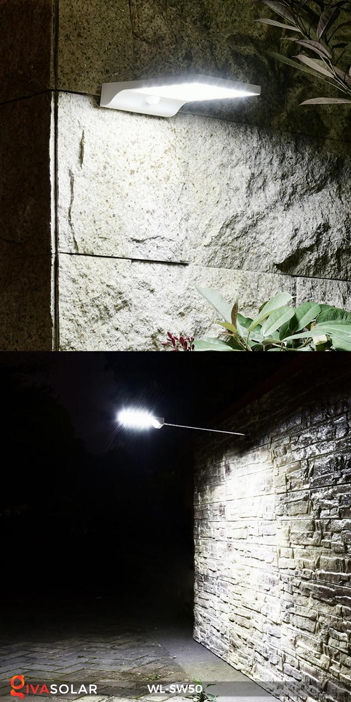 Đèn năng lượng mặt trời treo tường WL-SW50 19