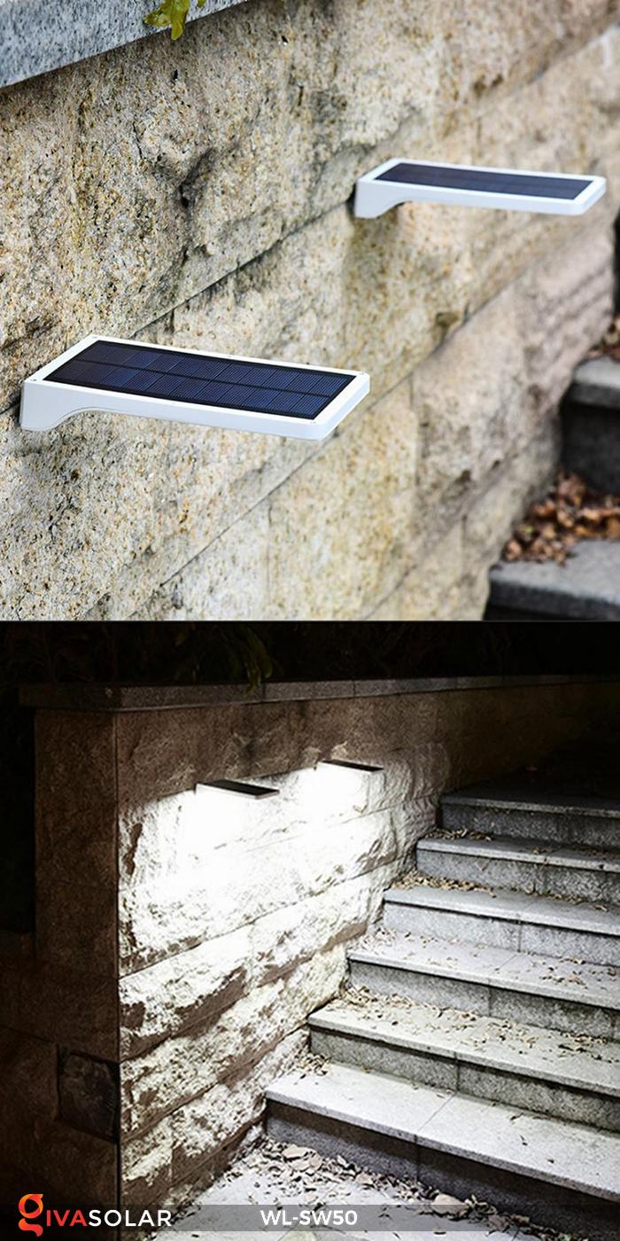 Đèn năng lượng mặt trời treo tường WL-SW50 20