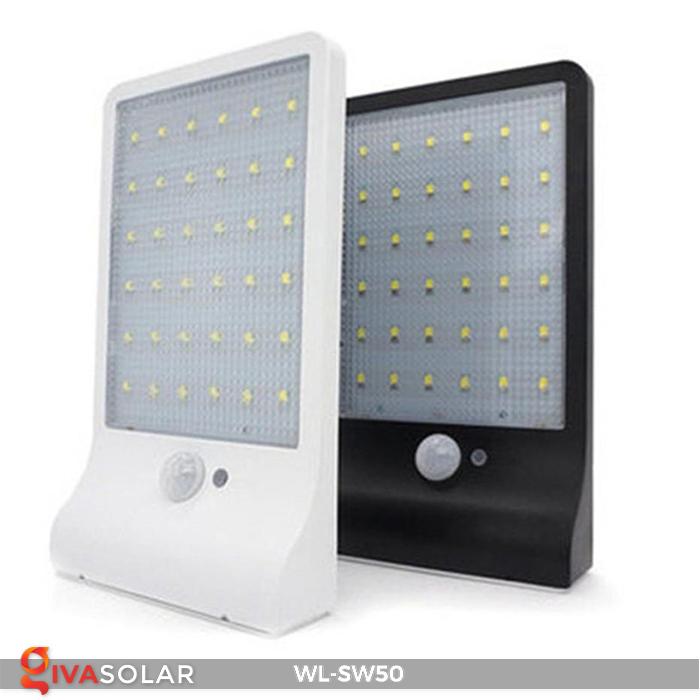 Đèn năng lượng mặt trời treo tường WL-SW50 6