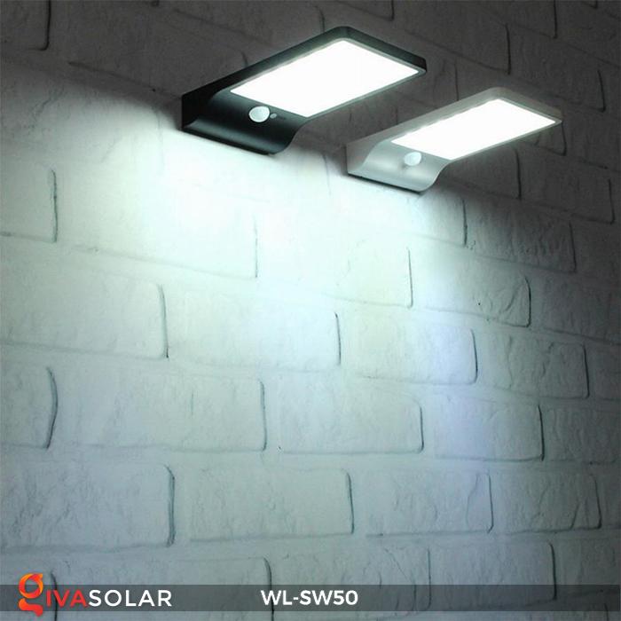Đèn năng lượng mặt trời treo tường WL-SW50 9