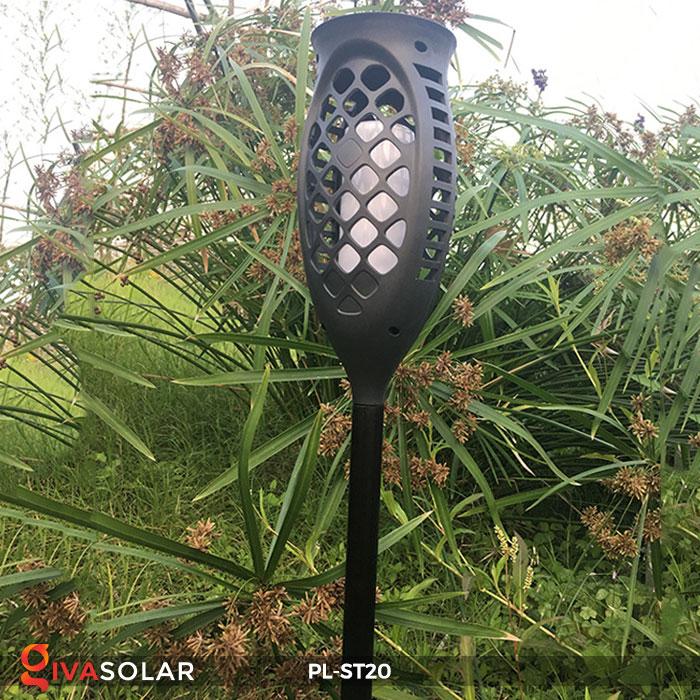 Đèn năng lượng mặt trời hiệu ứng ngọn lửa PL-ST20 10