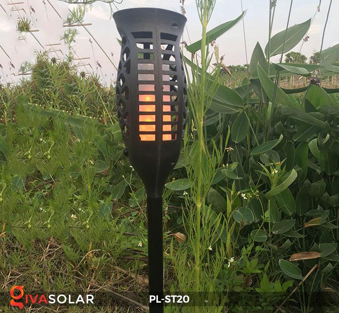 Đèn năng lượng mặt trời hiệu ứng ngọn lửa PL-ST20 11