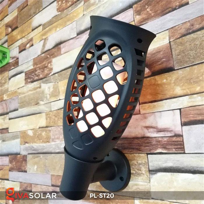 Đèn năng lượng mặt trời hiệu ứng ngọn lửa PL-ST20 7