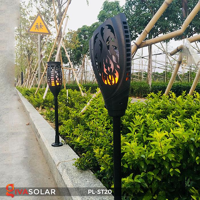 Đèn năng lượng mặt trời hiệu ứng ngọn lửa PL-ST20 9