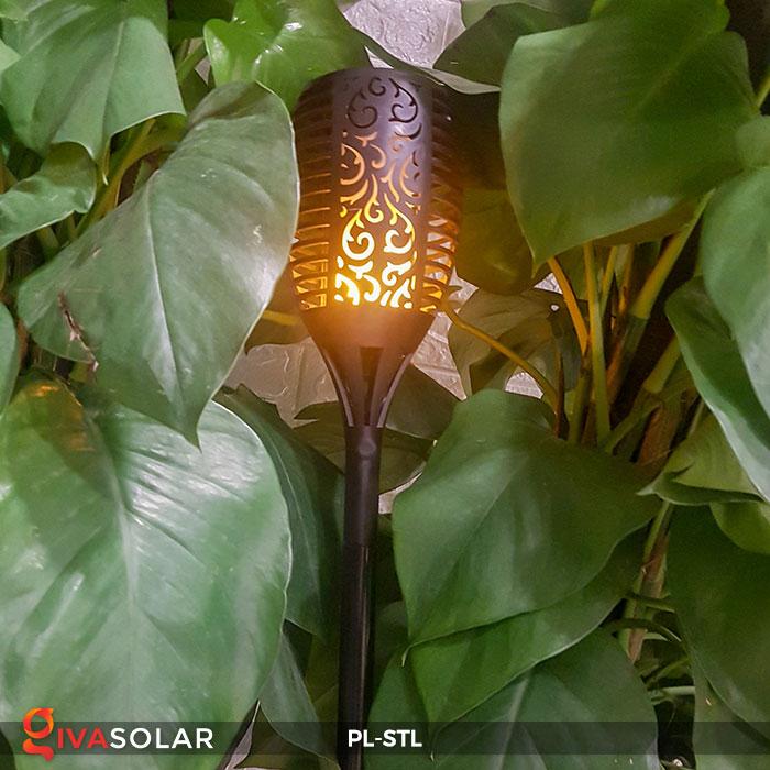 đèn hiệu ứng ngọn lửa năng lượng mặt trời pl-stl 11