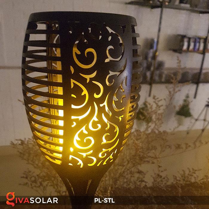 đèn hiệu ứng ngọn lửa năng lượng mặt trời pl-stl 14