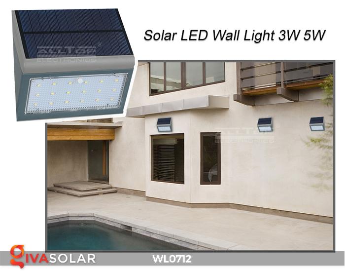 Đèn ốp tường năng lượng mặt trời WL0712 10