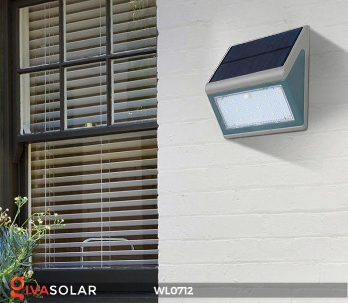 Đèn ốp tường năng lượng mặt trời WL0712 12