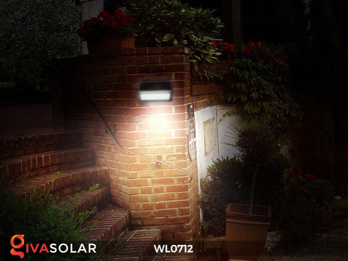 Đèn ốp tường năng lượng mặt trời WL0712 14