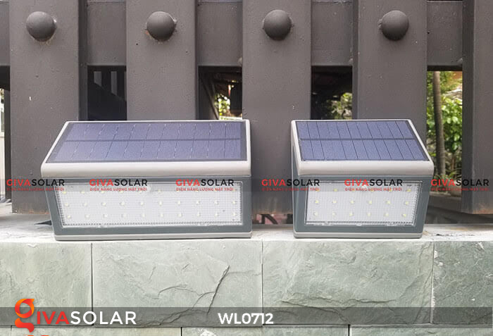 Đèn ốp tường năng lượng mặt trời WL0712 16