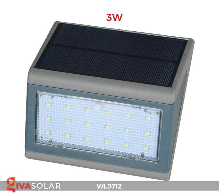 Đèn ốp tường năng lượng mặt trời WL0712 2
