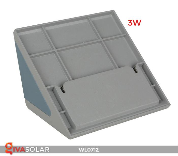 Đèn ốp tường năng lượng mặt trời WL0712 3