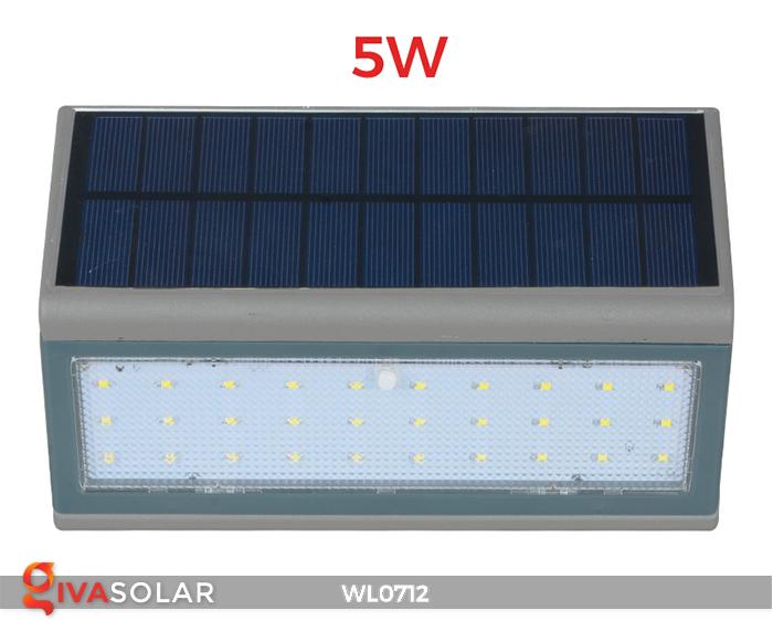 Đèn ốp tường năng lượng mặt trời WL0712 4