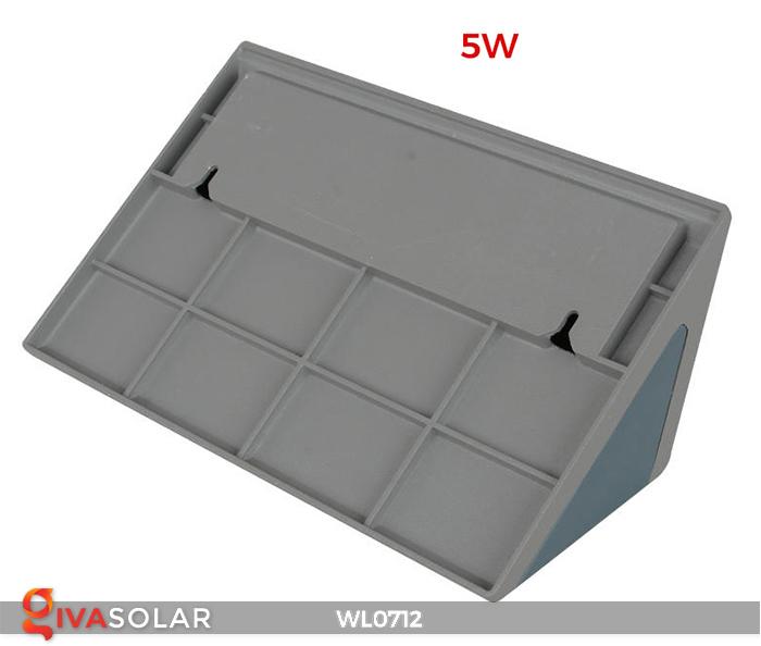 Đèn ốp tường năng lượng mặt trời WL0712 6