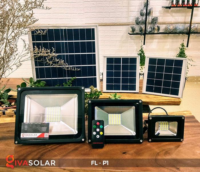Đèn LED pha năng lượng mặt trời FL-P1 1