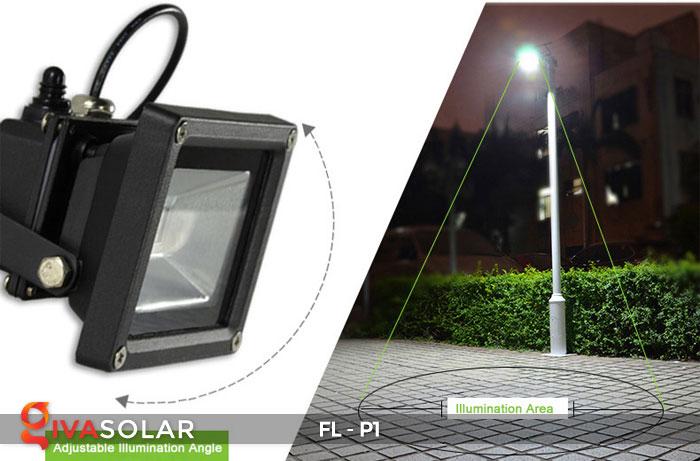 Đèn LED pha năng lượng mặt trời FL-P1 11