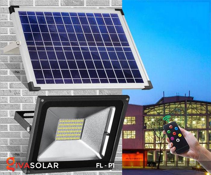 Đèn LED pha năng lượng mặt trời FL-P1 14