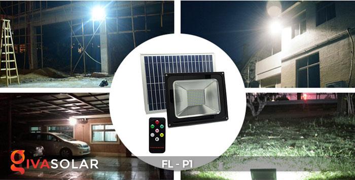 Đèn LED pha năng lượng mặt trời FL-P1 15