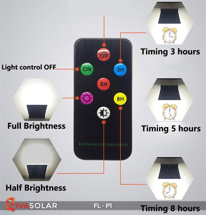 Đèn LED pha năng lượng mặt trời FL-P1 16
