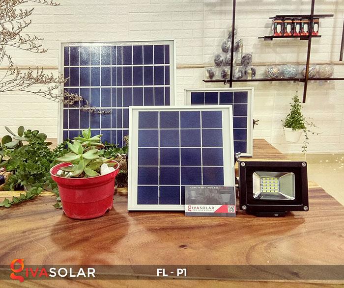 Đèn LED pha năng lượng mặt trời FL-P1 3
