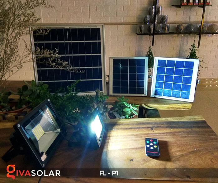 Đèn LED pha năng lượng mặt trời FL-P1 8