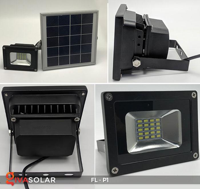 Đèn LED pha năng lượng mặt trời FL-P1 9