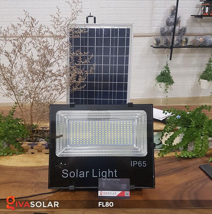 Đèn pha năng lượng mặt trời GV-FL80 80w 1