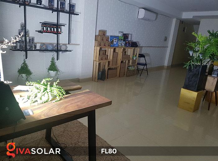 Đèn pha năng lượng mặt trời GV-FL80 80w 10