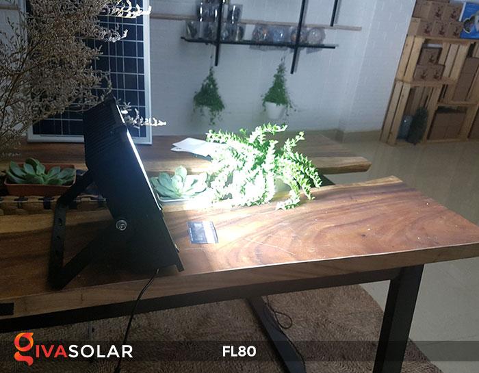 Đèn pha năng lượng mặt trời GV-FL80 80w 9