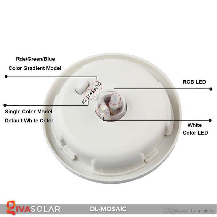 Đèn trang trí năng lượng mặt trời MOSAIC 15