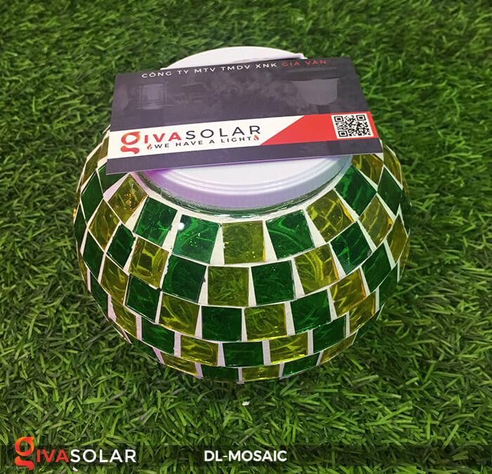 Đèn trang trí năng lượng mặt trời MOSAIC 9
