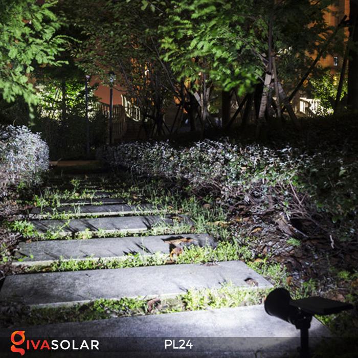 Đèn rọi tiểu cảnh năng lượng mặt trời PL24 12