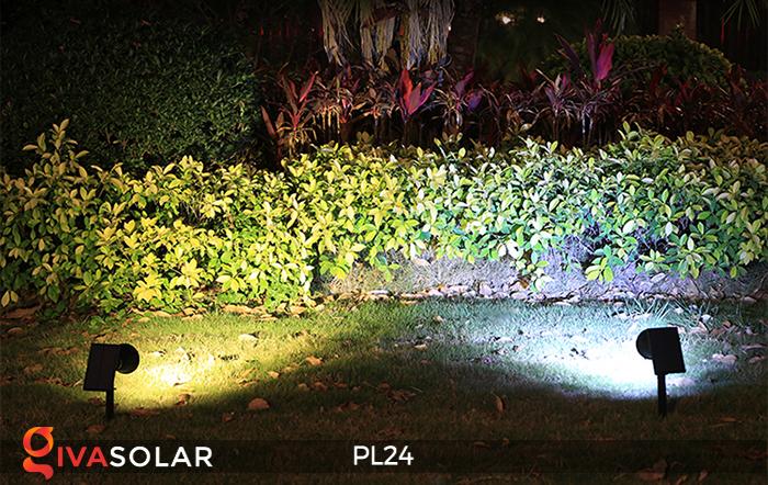 Đèn rọi tiểu cảnh năng lượng mặt trời PL24 17