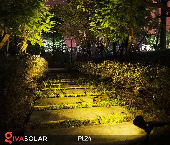 Đèn rọi tiểu cảnh năng lượng mặt trời PL24 20