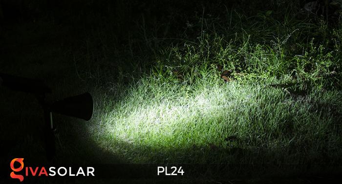 Đèn rọi tiểu cảnh năng lượng mặt trời PL24 8