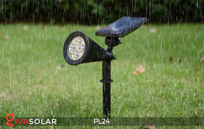 Đèn rọi tiểu cảnh năng lượng mặt trời PL24 9