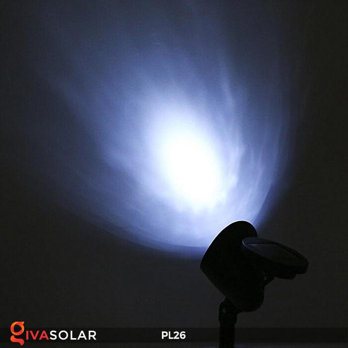 Đèn rọi tiểu cảnh năng lượng mặt trời pl26 10