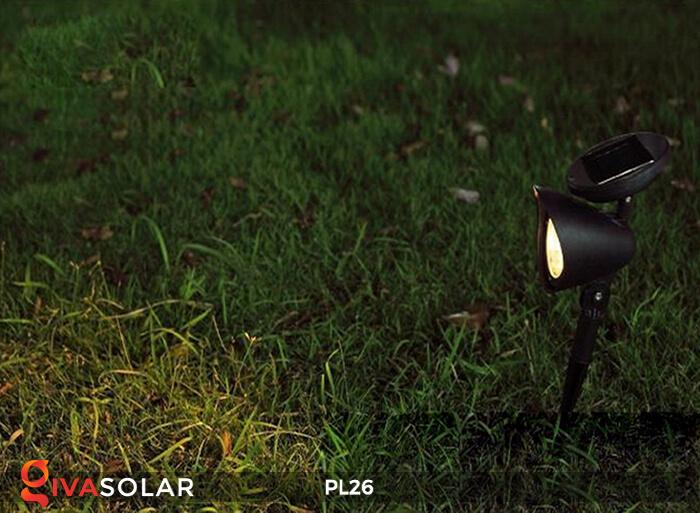Đèn rọi tiểu cảnh năng lượng mặt trời pl26 2