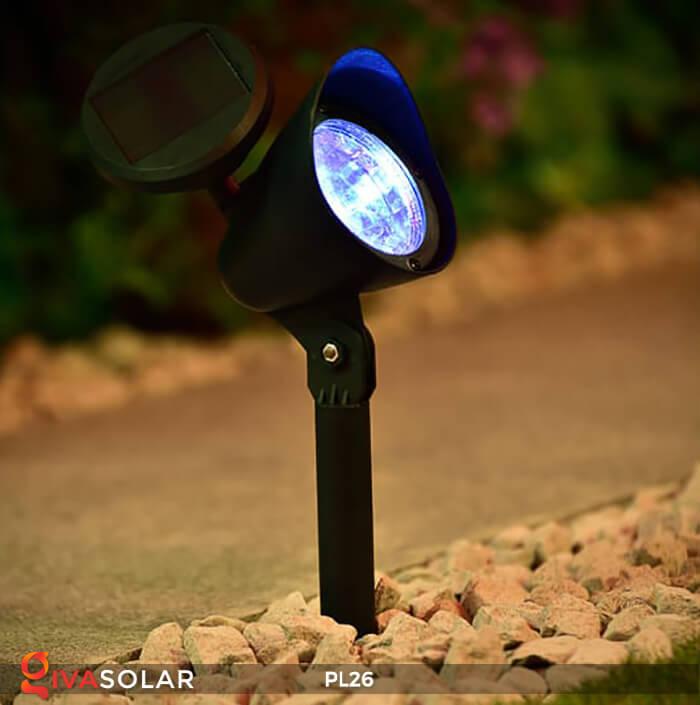 Đèn rọi tiểu cảnh năng lượng mặt trời pl26 4